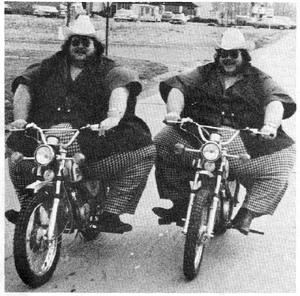 Fat Twins Motorcycle